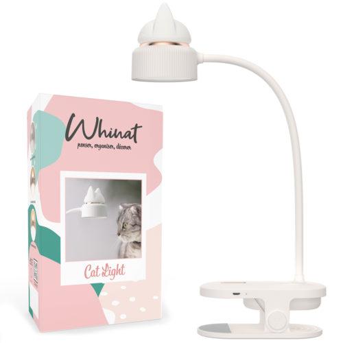 Lampe de lecture / Liseuse et veilleuse led clip Whinat