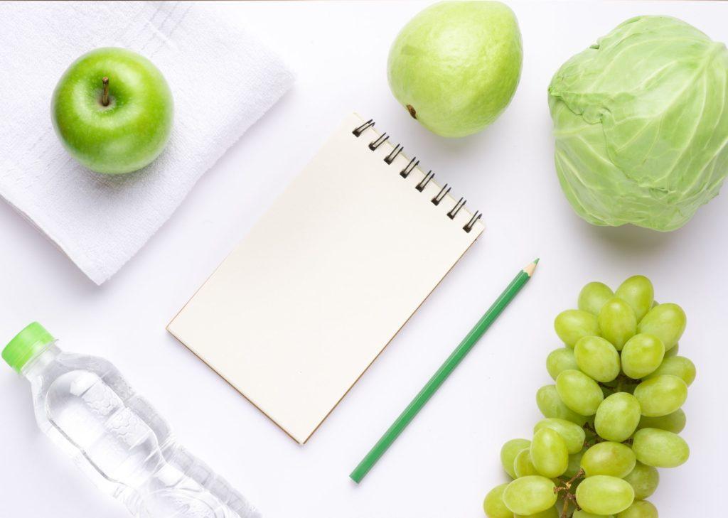 Faire liste de courses et preparer les menus de la semaine