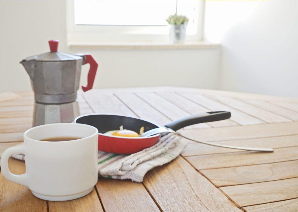 routine du matin - cafe