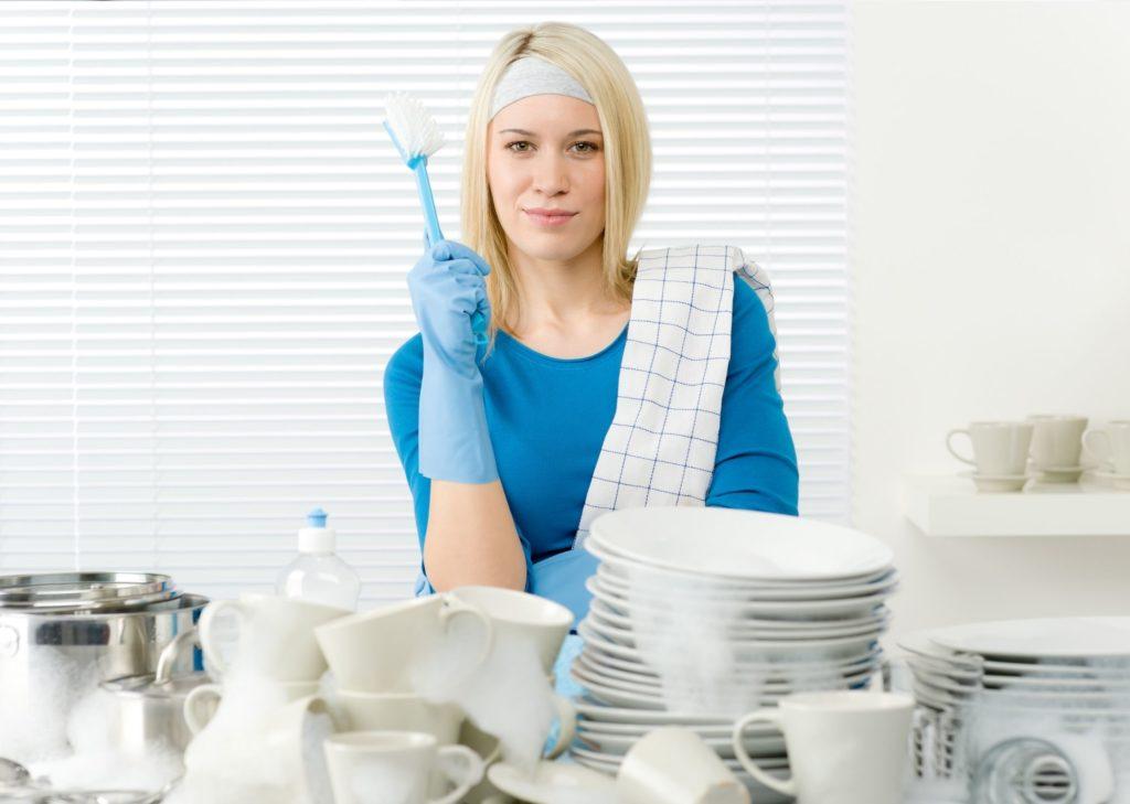 Tâches ménagères de la cuisine - Laver la vaisselle - Planning