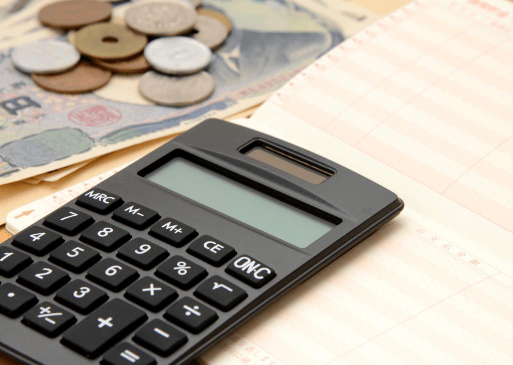 ménage tâche argent calculette