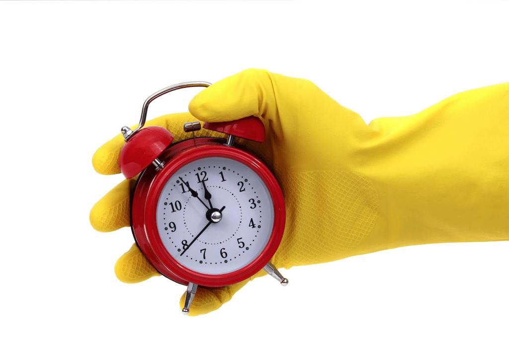 Temps de ménage et organisation & planification