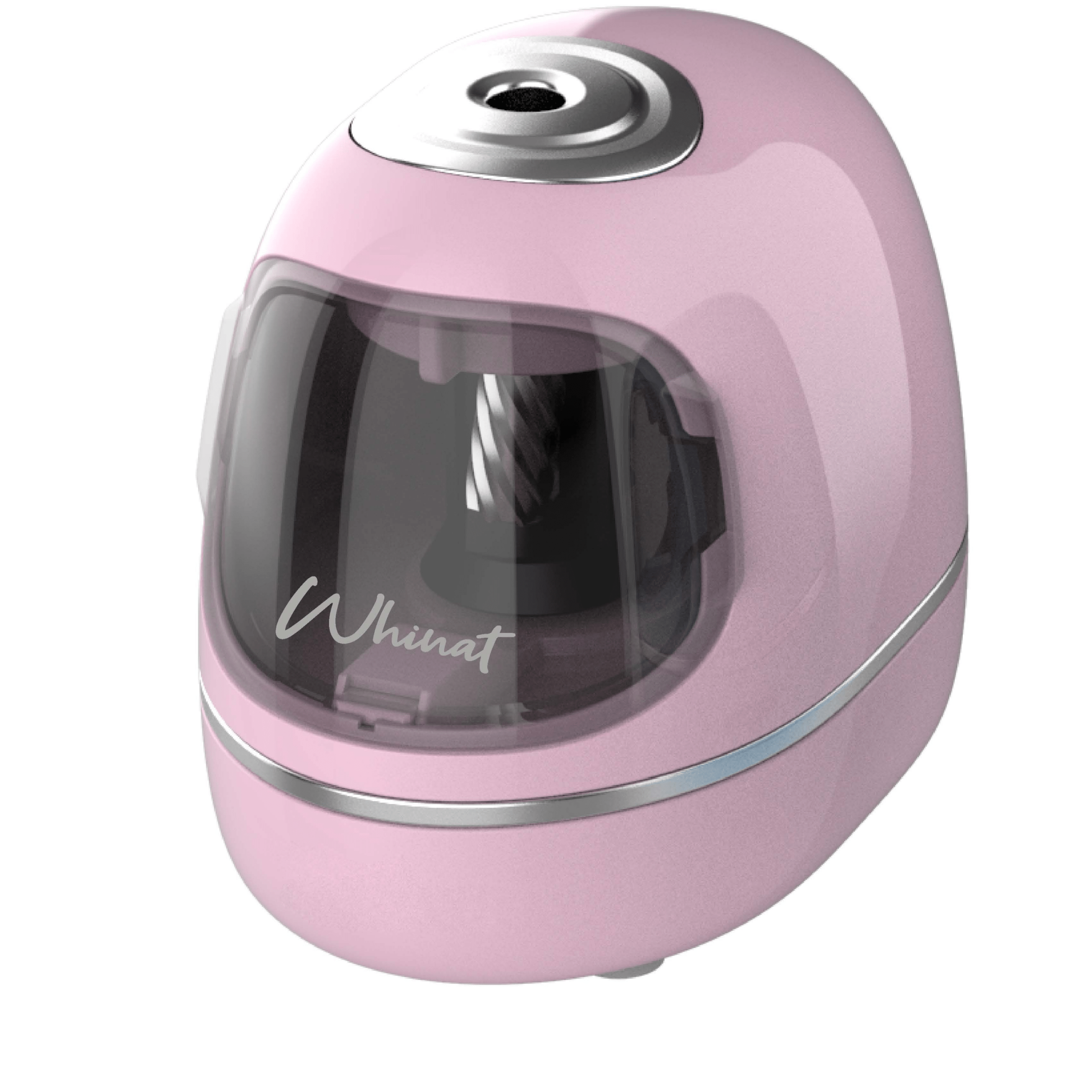 Taille crayons electrique rose whicut